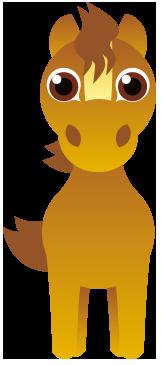 Links Nursery Musselburgh Horse Mascot